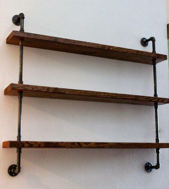 endüstriyel boru raf ayaklı duvar rafı örnekleri (11)