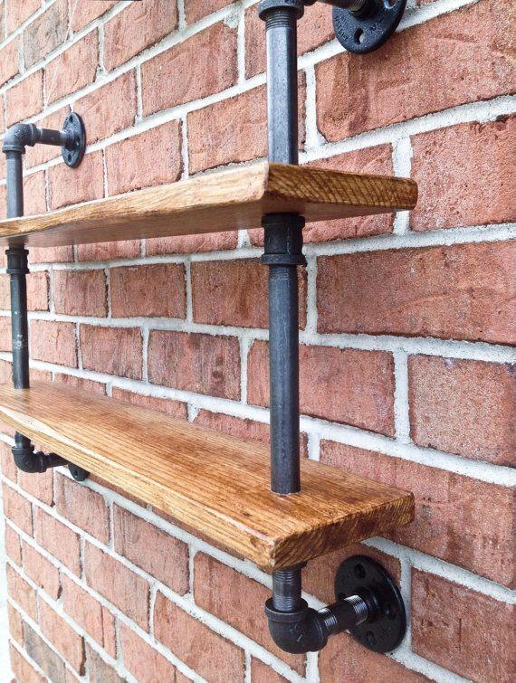 endüstriyel boru raf ayaklı duvar rafı örnekleri (28)