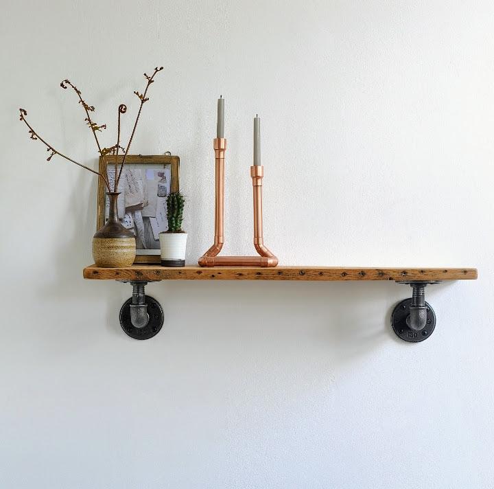 endüstriyel boru raf ayaklı duvar rafı örnekleri (37)