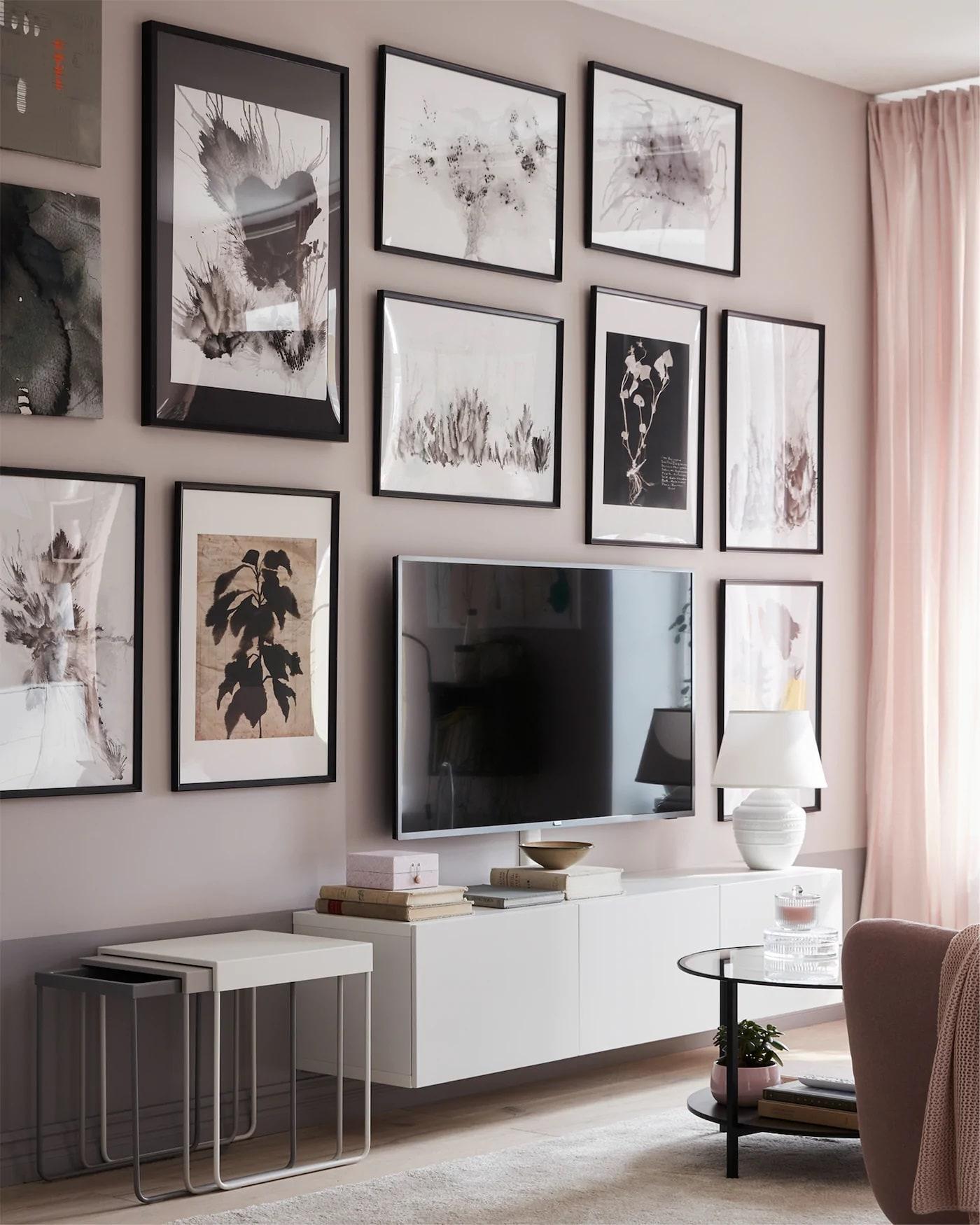 ikea duvar aksesuarlari ile dekorasyon fikirleri (18)-min