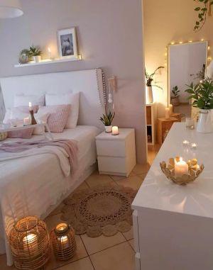 Evli ciftler icin yatak odası dekorasyonu (43)