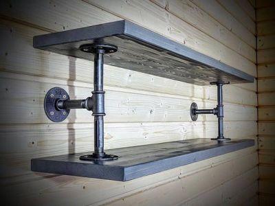 endüstriyel boru raf ayaklı duvar rafı örnekleri (15)