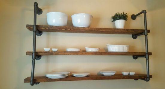 endüstriyel boru raf ayaklı duvar rafı örnekleri (36)