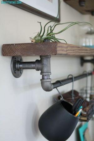 endüstriyel boru raf ayaklı duvar rafı örnekleri (9)