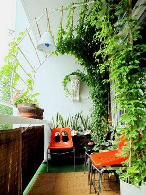 Kucuk Balkon Dekorasyonu Fikirleri Fotograf Galerisi (2)