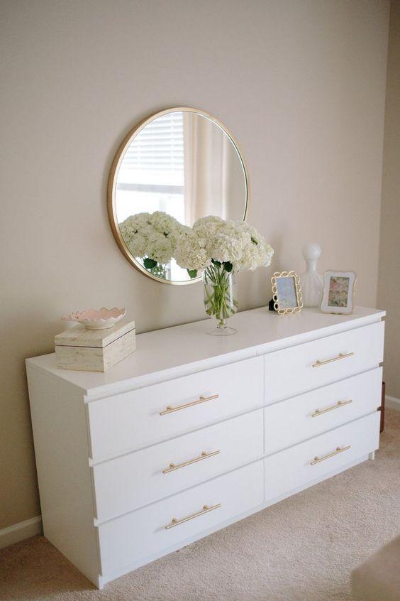 Yatak Odaları Icin Yuvarlak Ayna Dekorasyonu Fikirleri (13)