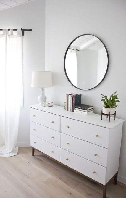 Yatak Odaları Icin Yuvarlak Ayna Dekorasyonu Fikirleri (20)