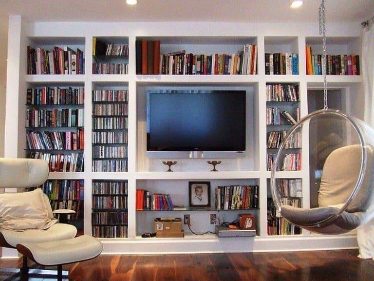 duvardan duvara raflar ile evinize çağdaş bir görünüm kazandırın (9)