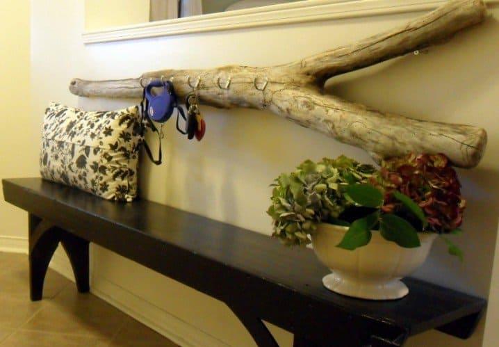 Değersiz Ağaç Parçalarını Sanata Dönüştürecek Kendin Yap Fikirleri (5)
