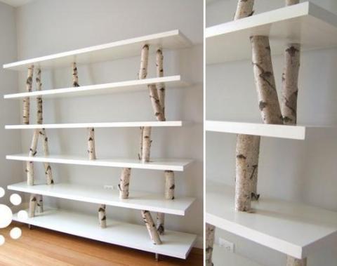 Huş Ağacı İle İç Mekan Dekorasyon Fikirleri (17)
