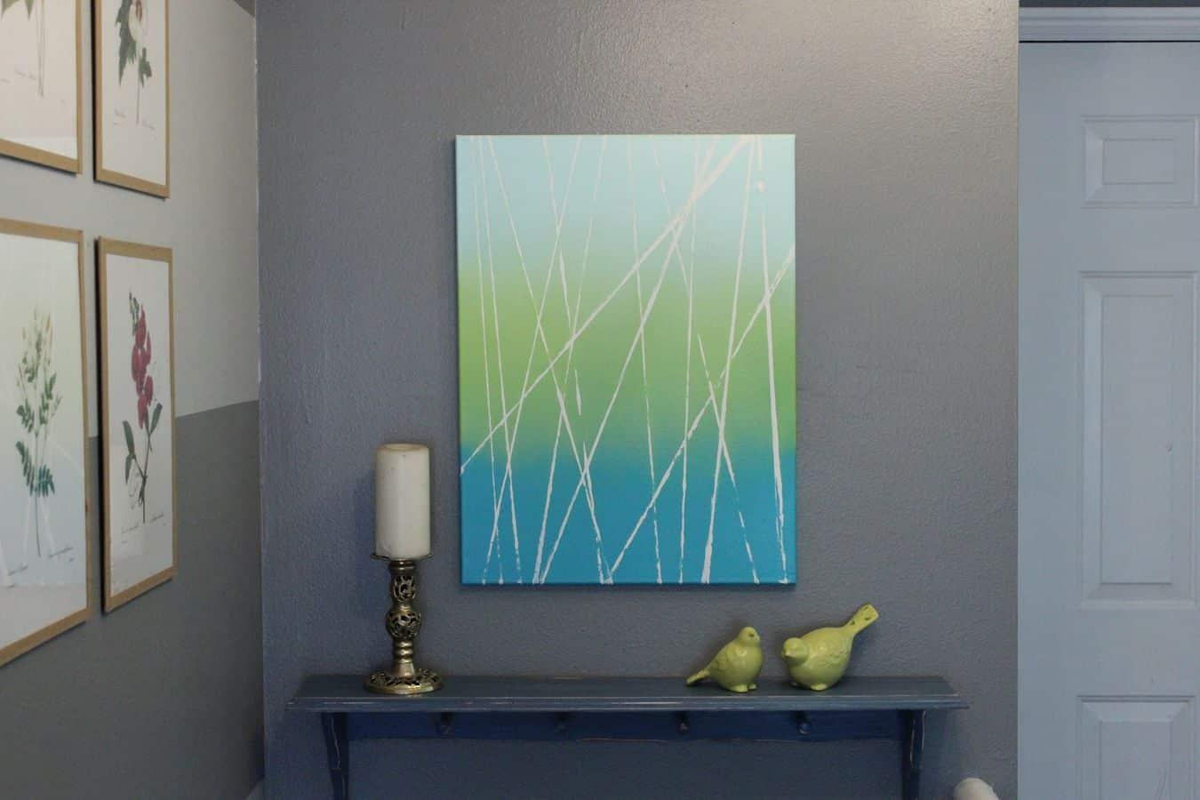 Sprey Boya İle 10 Modern Sanat Dekorasyonu (6)
