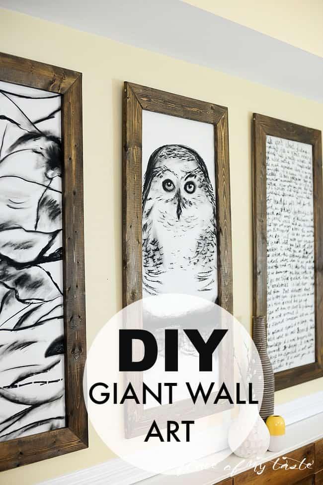 Büyük Ve Boş Duvarlara İlham Kaynağı Dekorasyon Çözümleri (13)