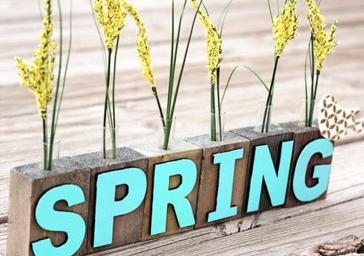 Evlerinize Baharı Erken Getirecek 16 Kendin Yap Vazo Fikirleri (4)