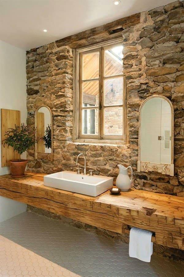 Sahip Olduğunuz Eşki Şeylerin Geri Dönüşümü İle Banyo Tasarımı Fikirleri (14)