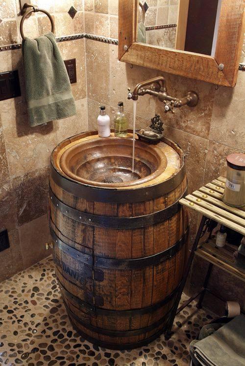 Sahip Olduğunuz Eşki Şeylerin Geri Dönüşümü İle Banyo Tasarımı Fikirleri (9)