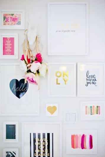 galeri duvarı fikirleri