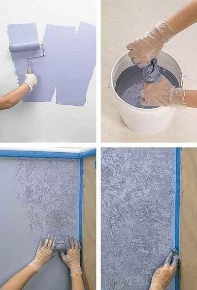 havlu ile duvar boyama önerileri