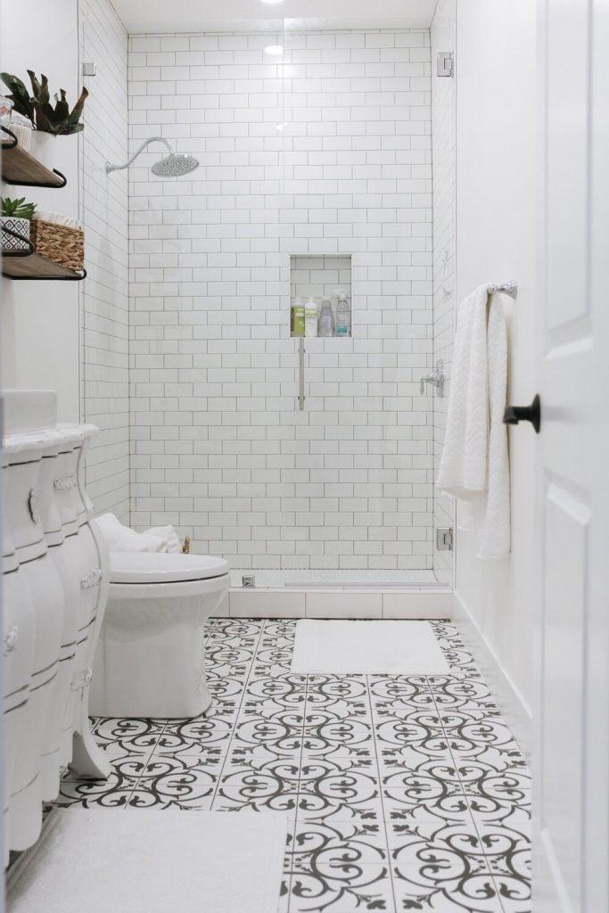 Modern Küçük Banyo Dekorasyonları